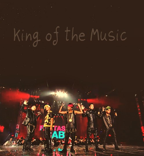 king and music image