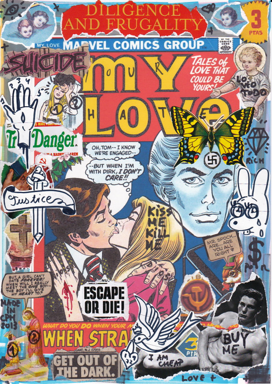 art comics love pop image