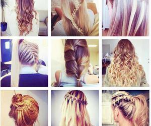 cabelo, fashion, and penteados image