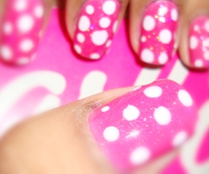 barbie, nails, and photography image