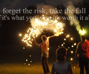 quote, risk, and text image