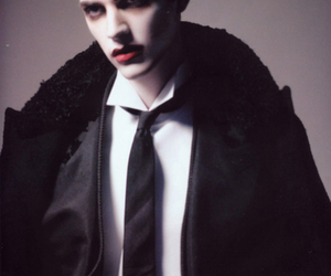 androgynous, editorial, and fashion image