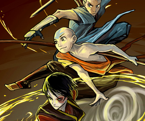 avatar, zuko, and aang image