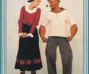 robin williams, shelley duvall, and popeye & olive oyl image