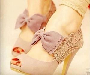 beauty, heels, and purple image
