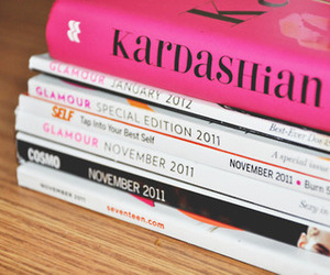 book, glamour, and magazine image