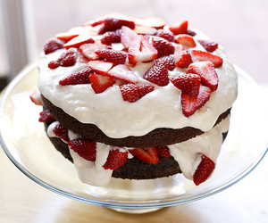 cake, pie, and whipped cream image