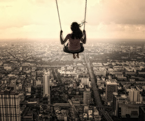 city and swing image