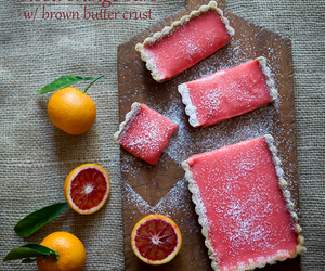 blood orange and food image