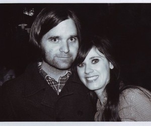 zooey deschanel, death cab for cutie, and ben gibbard image
