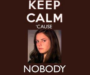 skins, Effy, and keep calm image