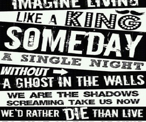 Lyrics and king for a day image