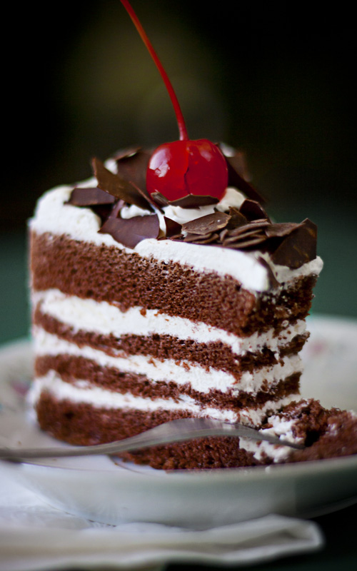 27 Images About Cakes Black Forest Cake On We Heart It See