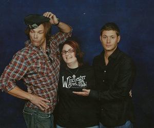 fan, jared padalecki, and Jensen Ackles image