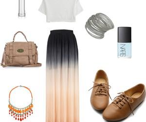bag, collar, and conjunto image