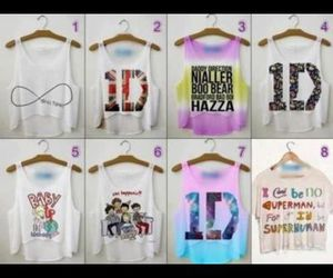 clothes, fashion, and directioner image