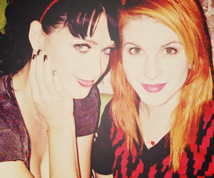 hayley williams and katy perry image