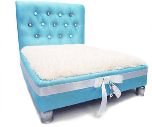 tiffany blue, dog beds, and pet lovers image
