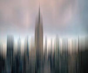 blur and skycraper image