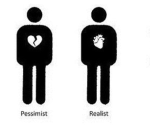 heart, realist, and optimist image