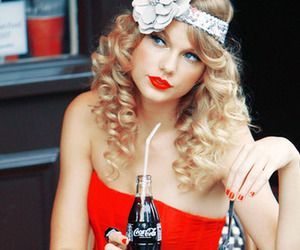 Taylor Swift and vintage image