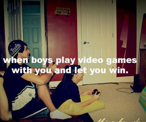 boy, games, and girl image