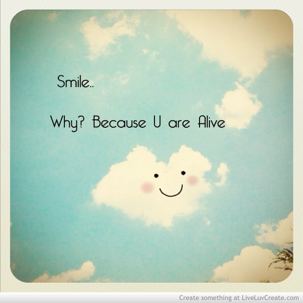 Smile Because Uploaded By Liveluvcreate On We Heart It