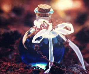 magic, potion, and blue image