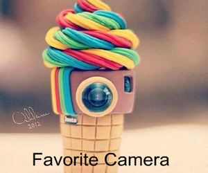 cute, camera, and quote image