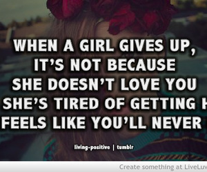 quote, girls, and life image