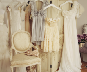 dress, vintage, and white image