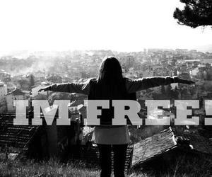 free and girl image