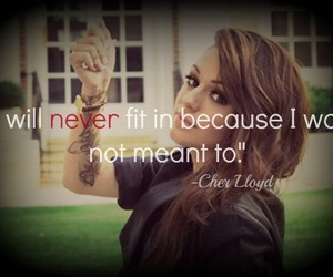 quote, cher lloyd, and cher image
