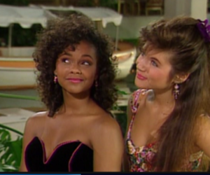 saved by the bell, kelly kapowski, and lisa turtle image