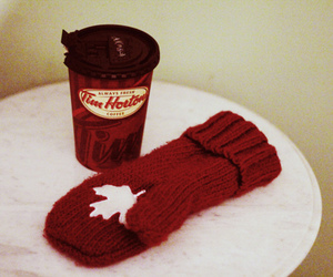 canada, coffee, and mittens image