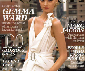 fashion, Gemma Ward, and vogue image