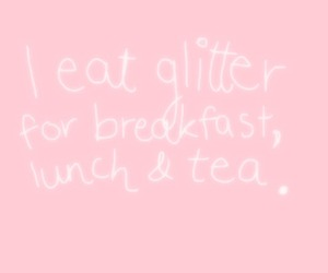glitter, text, and pink image