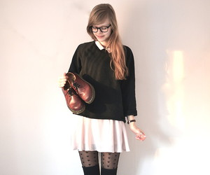 fashion, knee high socks, and lookbook image