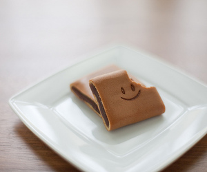chocolate and smile image