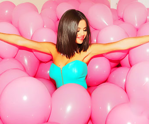 selena gomez, pink, and hit the lights image