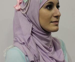 lolita, muslim, and veil image