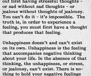 emotions, life, and unhappiness image