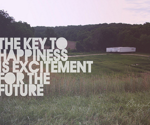 happiness, future, and quote image