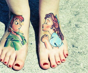 tattoo, peter pan, and wendy image