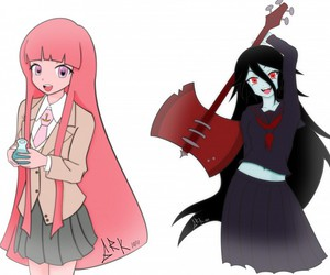 marceline, school, and adventure time image