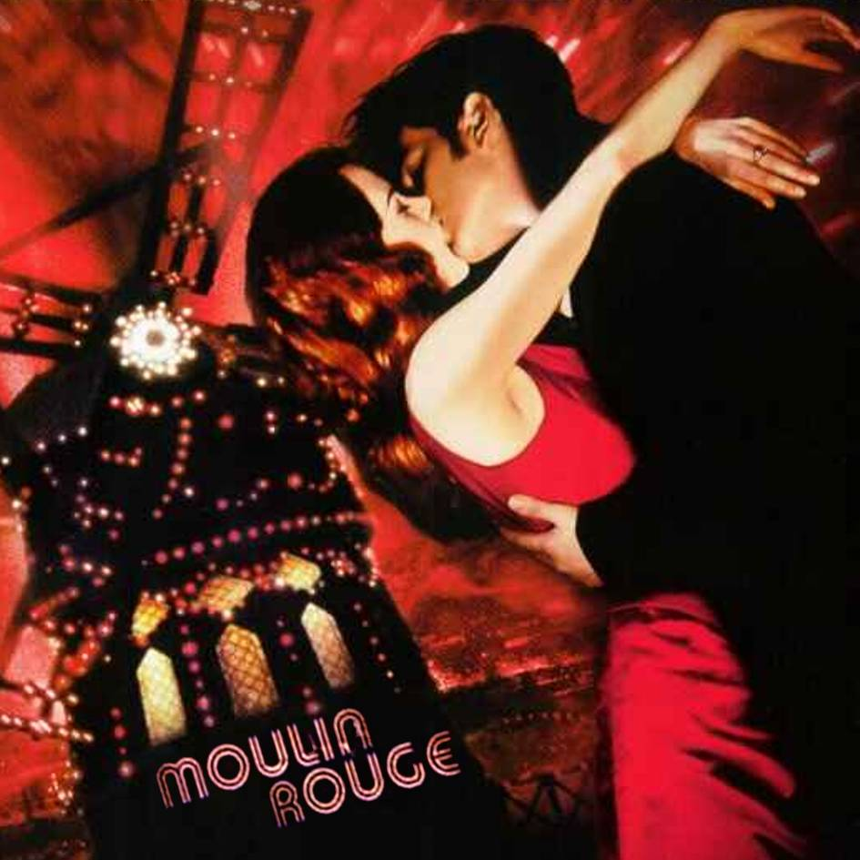 love, moulin rouge, and kiss image