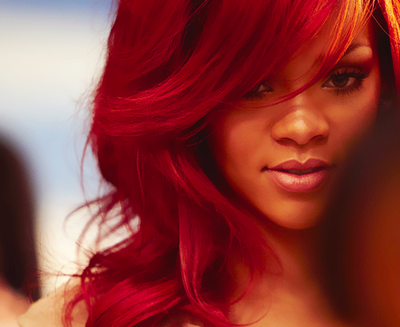 rihanna, red, and hair image