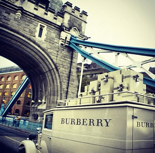 Burberry, london, and London bridge image