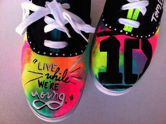 one direction, 1d, and shoes image