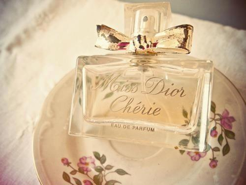perfume, dior, and cherie image